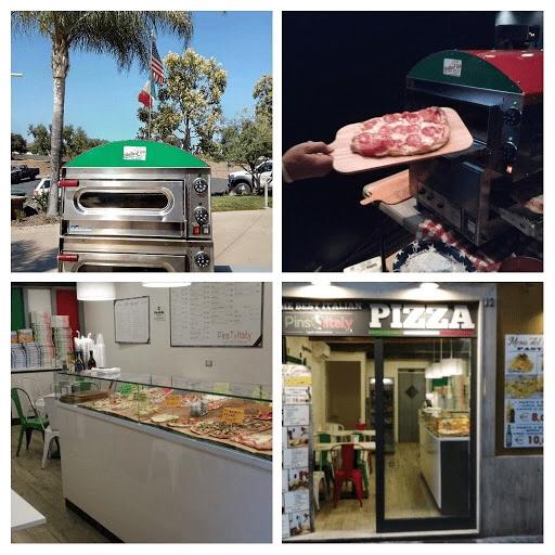 Pinsarella tradizional Romano pizza in San Diego