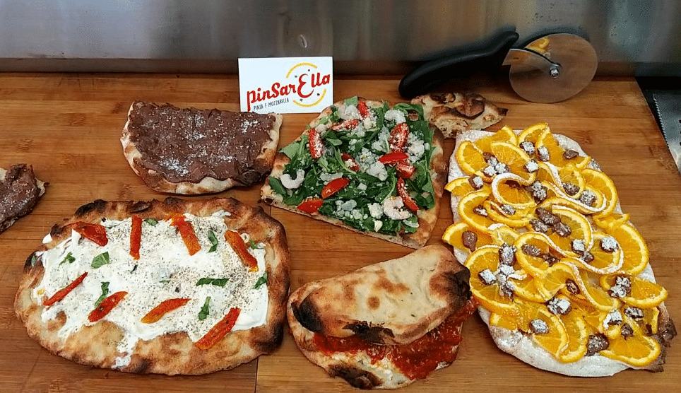 pinsa romana us different flavours