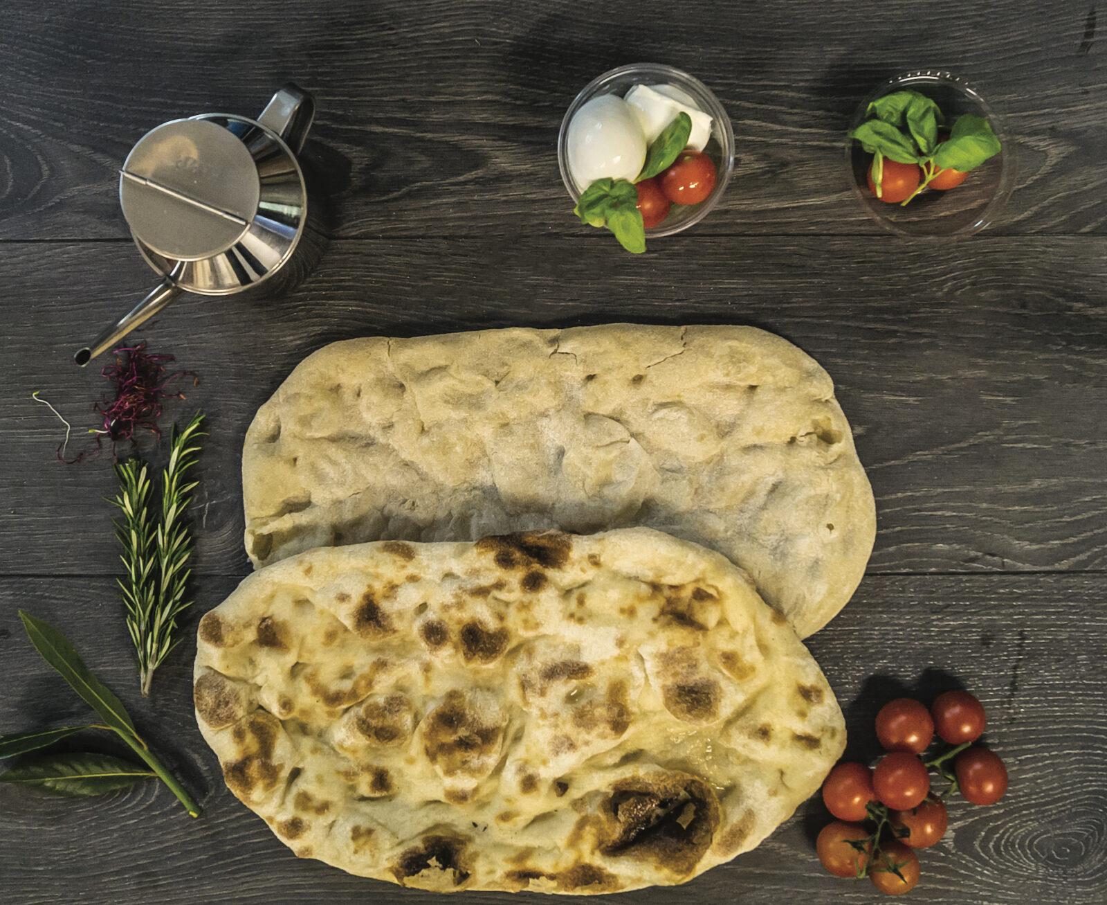 premade par-baked pinsa romana crusts