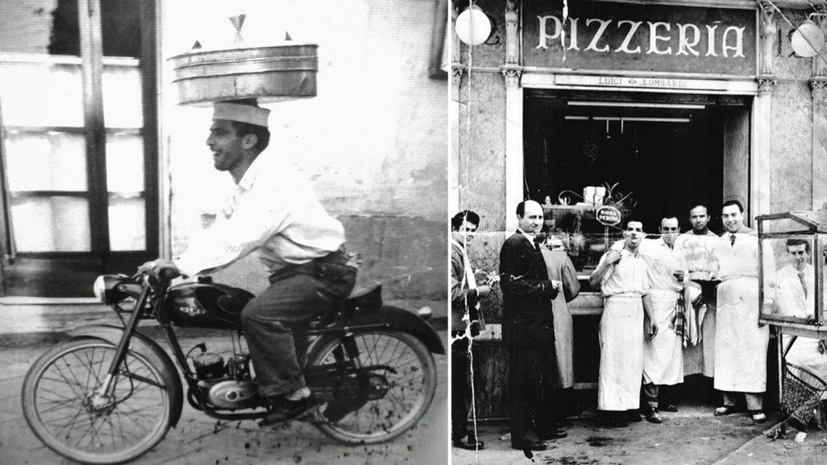 pizza napoli historic picture