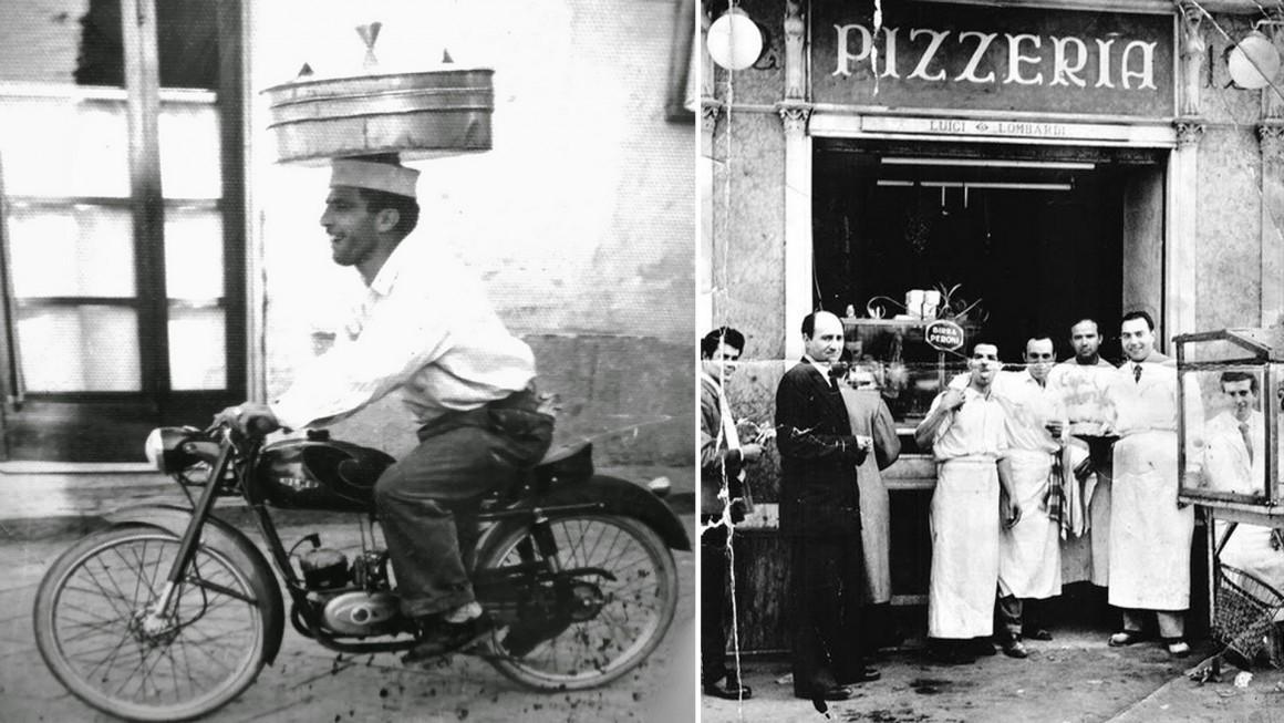 pizza napoli historic picture