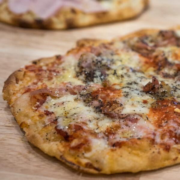 pinsa meatballs roman pizza