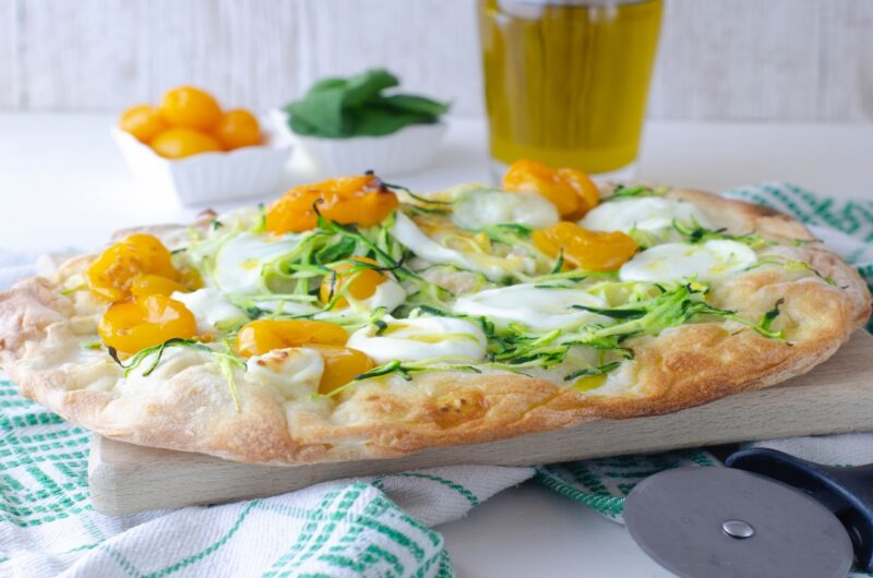 Vegetarian Roman Pizza Recipe