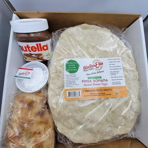 Pinsarella Recipe – How to make Nutella Pinsa